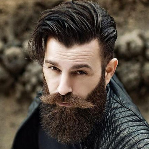 Best Long Hair With Coll Beard Styles For Men | Hairstyles