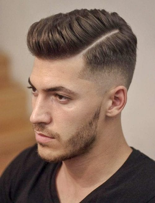 Top 35 Best Hard Part Haircuts You Can Get Right Now