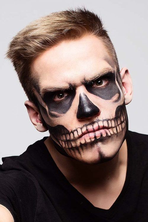 35 Cool Halloween Makeup Ideas For Men Best Halloween