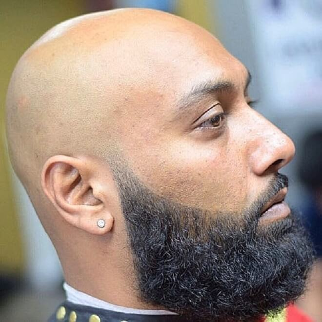 30 Cool Bald Men With Beard Styles Hairstyles