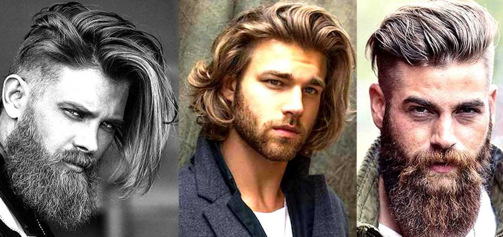 Best Long Hair With Coll Beard Styles For Men Men S Style