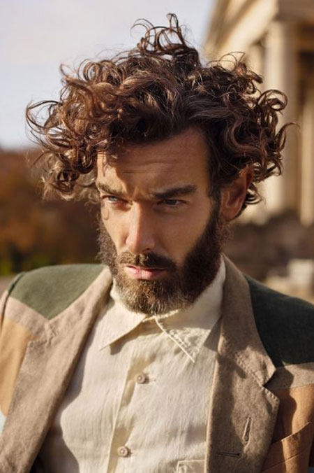 Best Medium Curly Hairstyle Ideas for Men | Men's Style