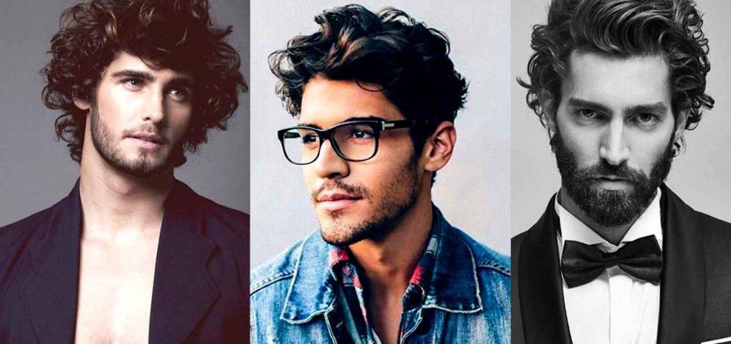 Medium Length Haircuts For Men Curly Hair 98
