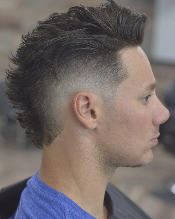 Coolest Fade Mohawk Hair Styles For Men | Men's Style