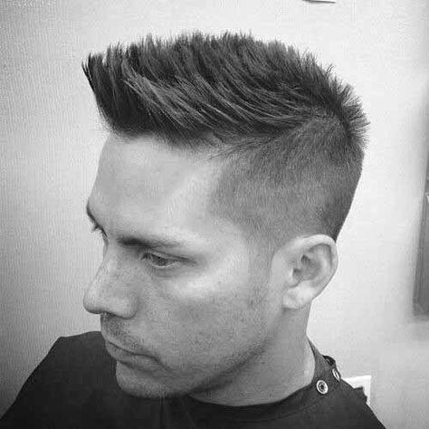 Coolest Fade Mohawk Hair Styles For Men Men S Style