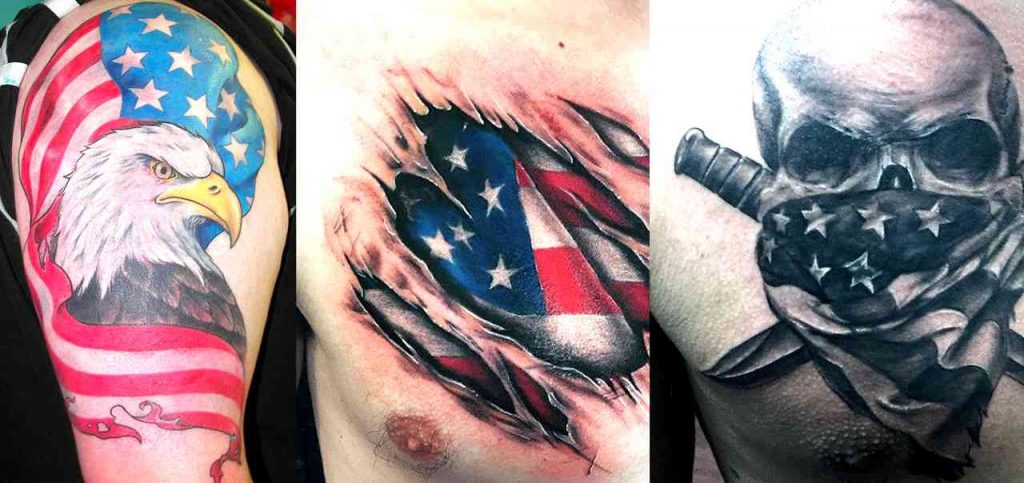 Cool American Flag Tattoos For Men Men S Style