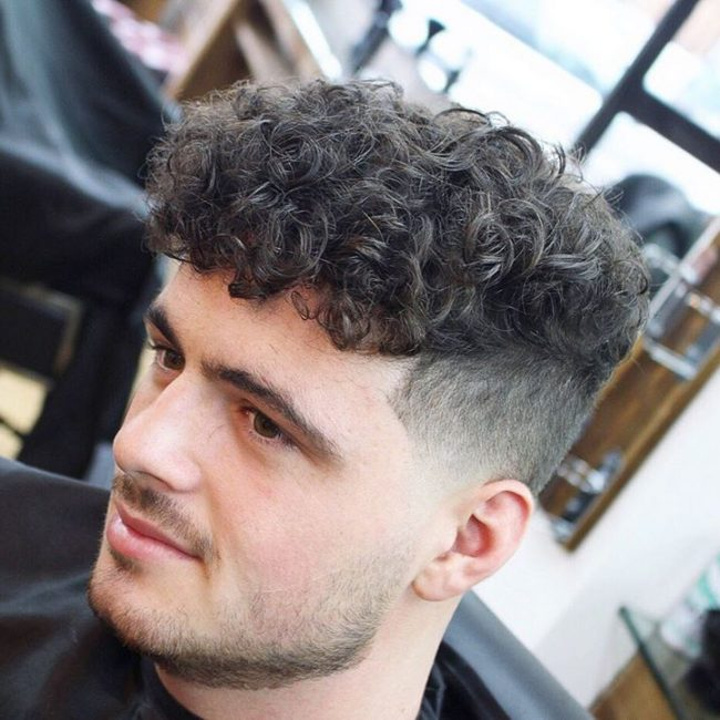 25 Cool Short Curly Hairstyles for Men | Men's Style