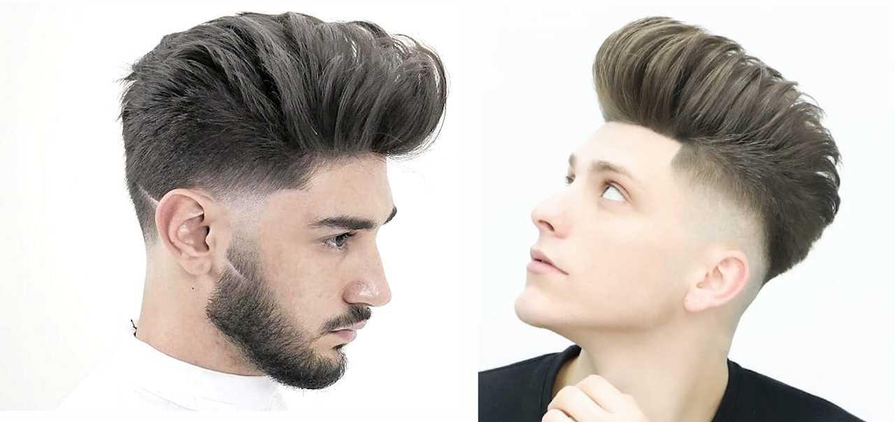 50+ Awesome Pompadour Fade Haircut | Best Pompadour ...