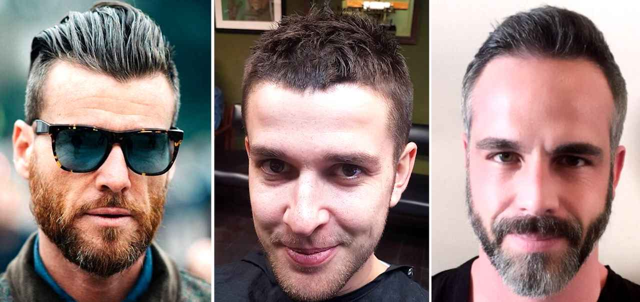 Top 25 Hairstyles For Men With Receding Hairlines | Men's ...