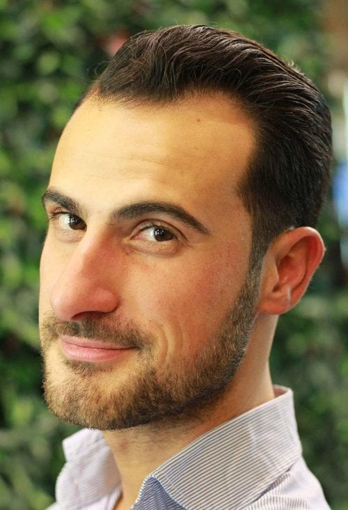 Top 25 Hairstyles For Men With Receding Hairlines Men S
