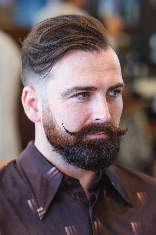 receding hairline hair beard wavy hairstyles haircuts edgy hairlines bun mens source