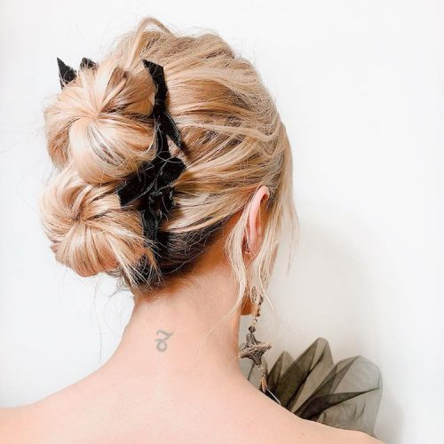 20 Inspiration Low Bun Hairstyles For Wedding 2019 2020: 7 Easy Prom And Wedding Hairstyles