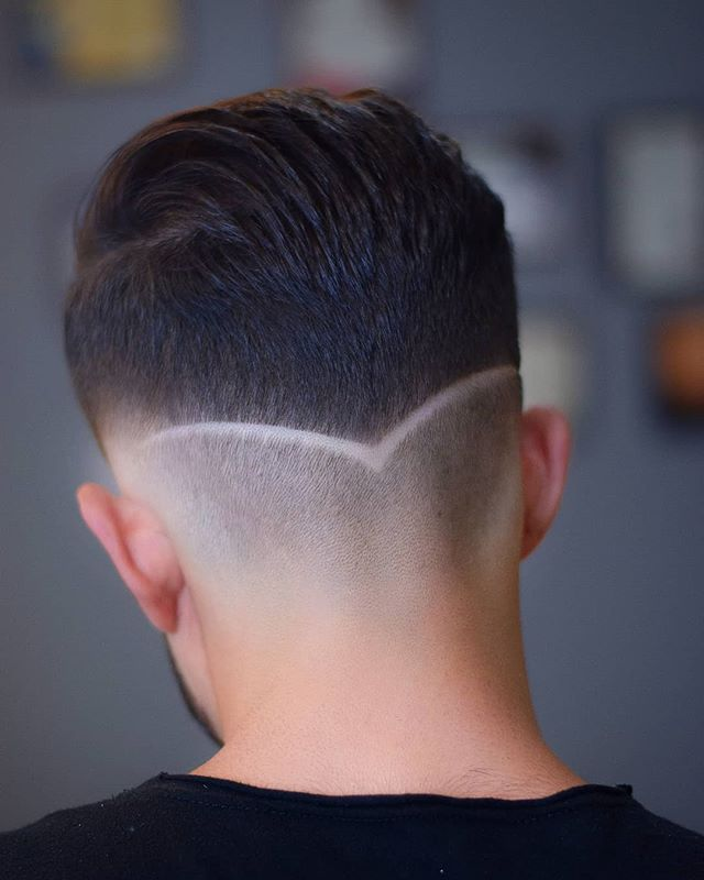 Stylish Haircut Designs Lines For Men