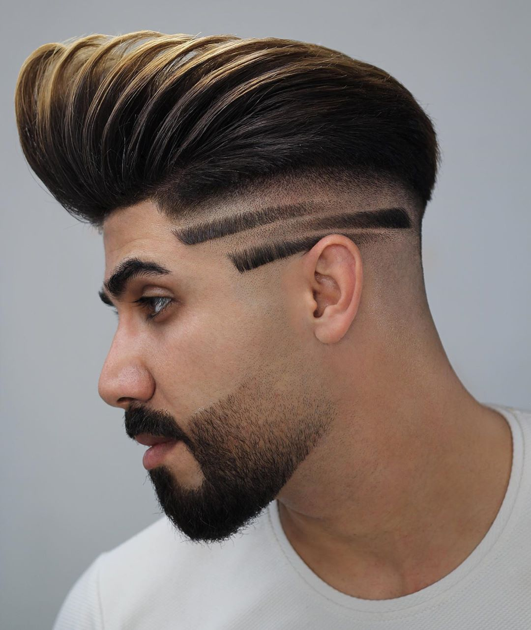 12 Most Creative Haircut Designs with Lines  Stylish Haircut