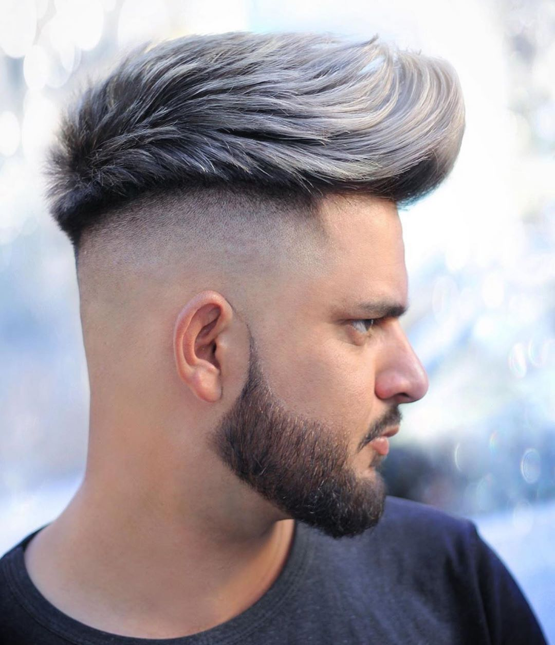 Top 25 Haircuts For Men 2021 Trends Styles: Mens Messy Quiff Hairstyle