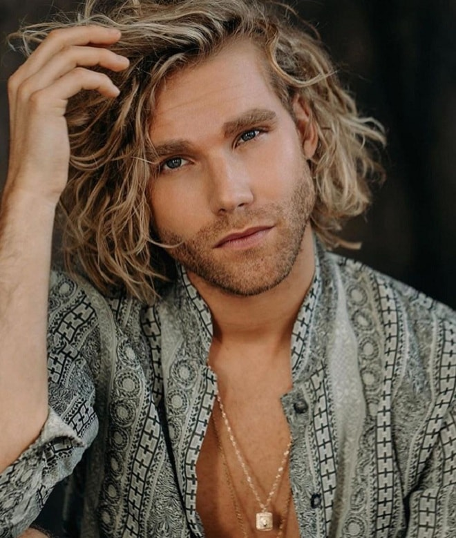 top 20 sexy shoulder length hairstyles for men  cool