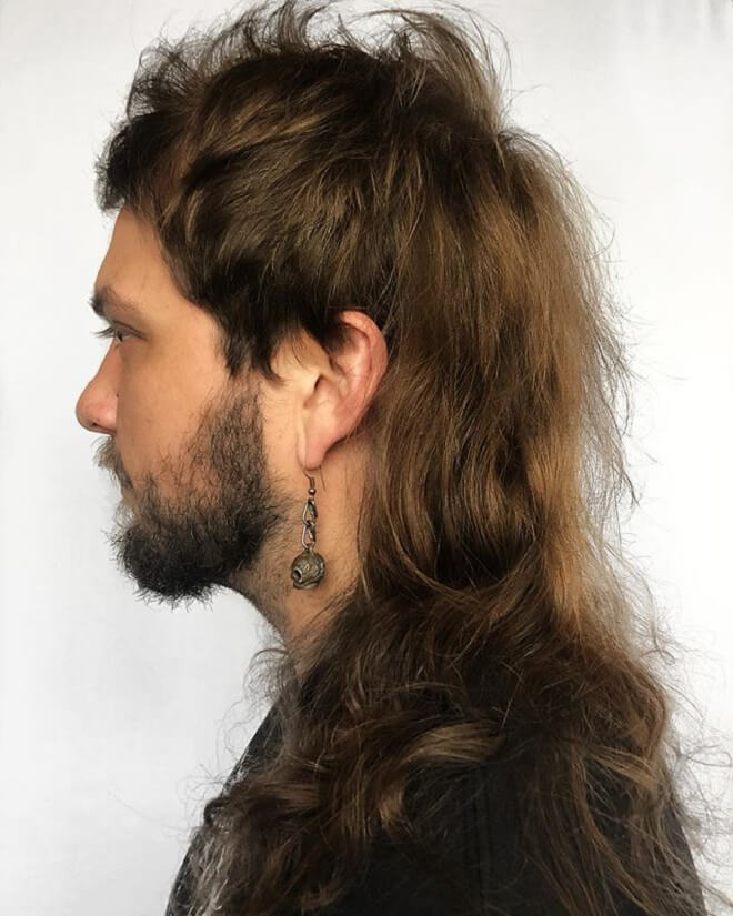 Swell Top 40 Modern Mullet Hairstyles For Men Classic Mullet Haircut Natural Hairstyles Runnerswayorg