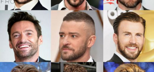 Short Hairstyles With Beard Men S Style
