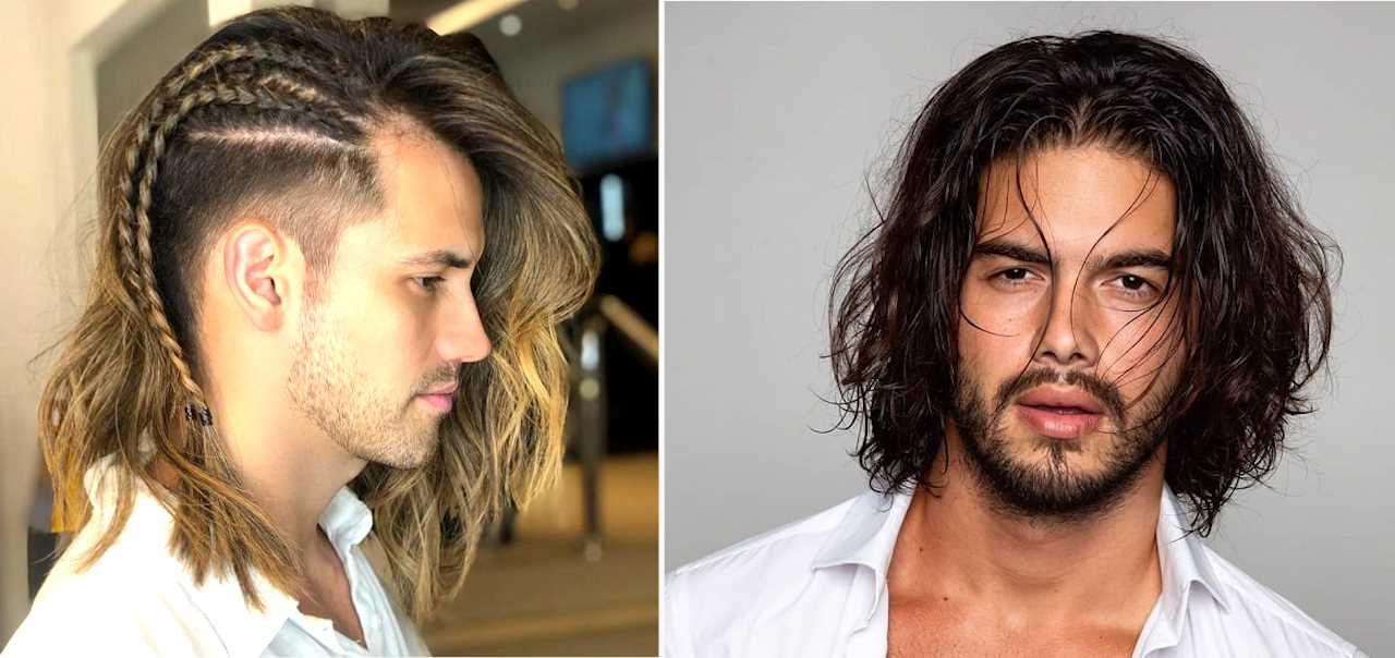 Top 20 Sexy Shoulder Length Hairstyles For Men Cool Shoulder Length Hairstyles For Guys Men S Style