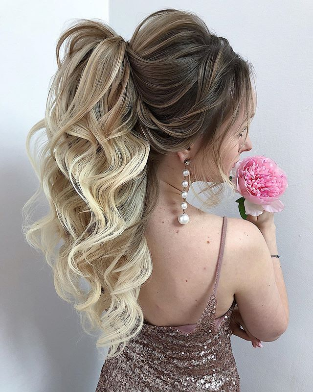 17 Gorgeous Wedding Updos For Brides In 2019: New Bridal Hair Style 2020