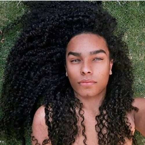 30 Best Curly Hairstyles For Black Men African American Men S Curly Hairstyles 2020 Men S Style