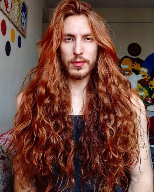 25 Best Men S Long Curly Hairstyles Cool Curly Long