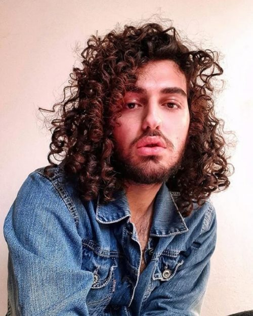 25 Best Men S Long Curly Hairstyles Cool Curly Long Haircuts For Men 2020 Men S Style