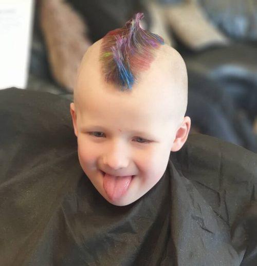 Bald Fade Haircut Kids 58