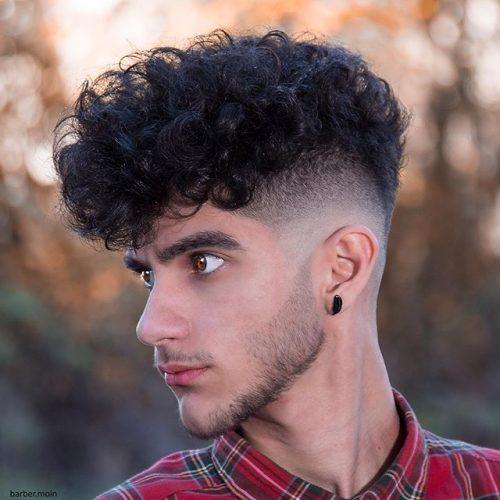 Mid Taper Haircut Curly Hair 101
