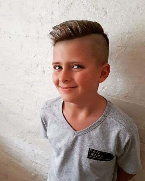 Top 35 Popular Haircuts For School Boys