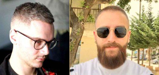 Short haircuts for balding guys