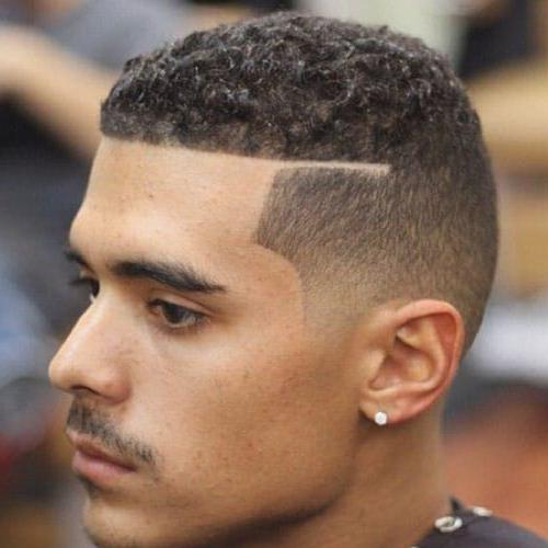 Top 25 Amazing Line Haircuts For Men Cool Haircut Designs Lines Men S Style