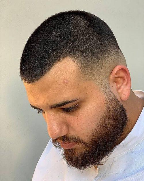 Peachy Top 30 Clean Buzz Cut Hairstyles For Men Best Mens Buzz Cut Schematic Wiring Diagrams Phreekkolirunnerswayorg