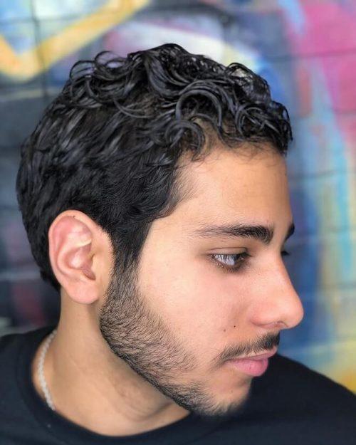 Super Top 35 Wavy Hairstyles For Men Best Mens Wavy Hairstyles 2020 Schematic Wiring Diagrams Amerangerunnerswayorg