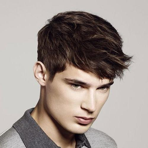 40+ Best Men's Haircuts with Bangs   Handsome Men's Fringe Hairstyles   Men's Style