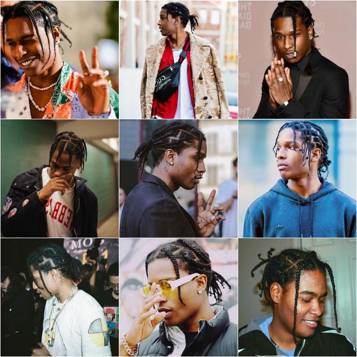 Top 20 Best Asap Rocky Braided Hairstyle