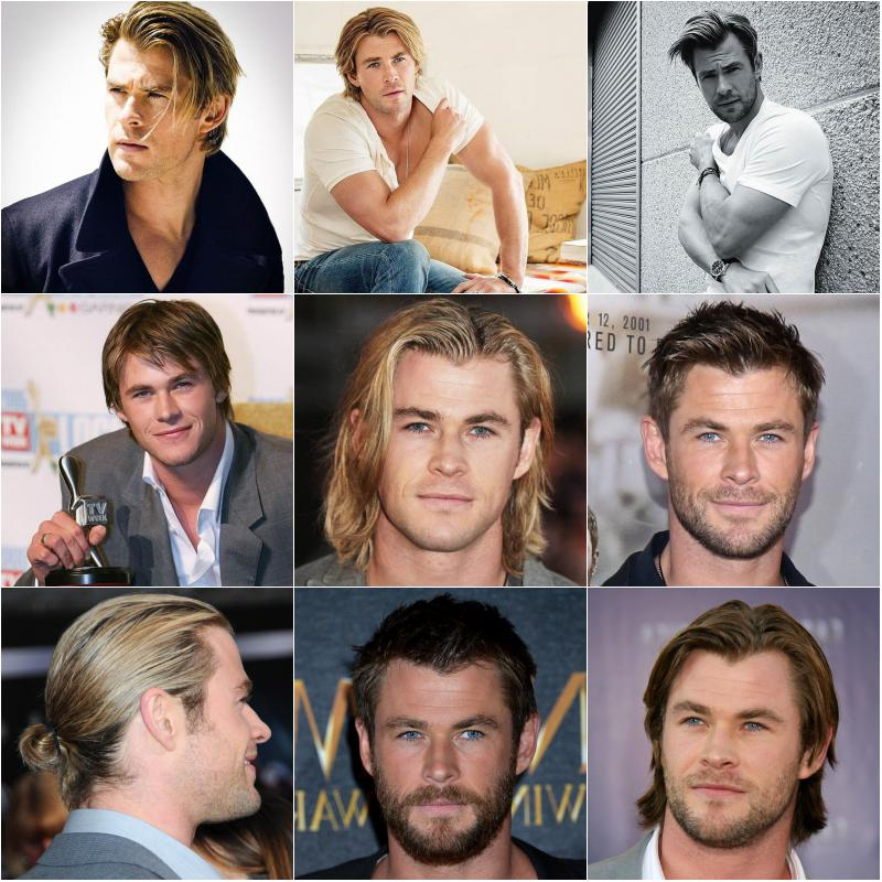 20 Best Chris Hemsworth Hairstyles Thor Haircuts For Men Men S Style