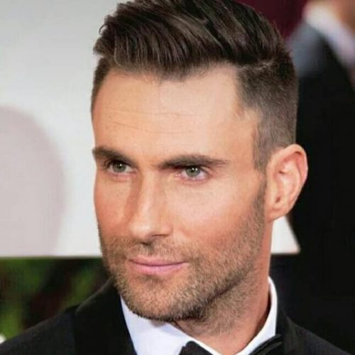 Adam Levine | Adam levine haircut, How i met your mother ... |Haircut Beard Adam Levine