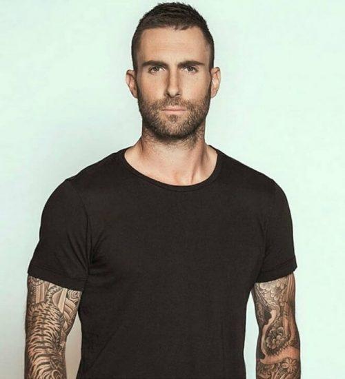 Mens hairstyles image by Trent on Adam Levine | Hair ... |Haircut Beard Adam Levine