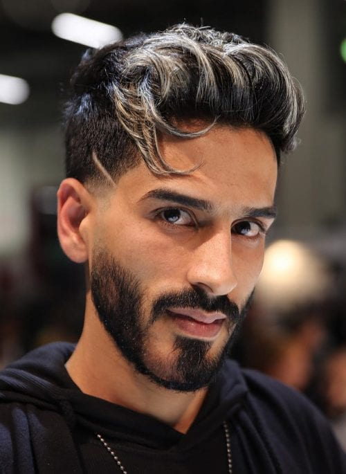 Top 27 Stylish Highlighted Hairstyles For Men 2020 Men S