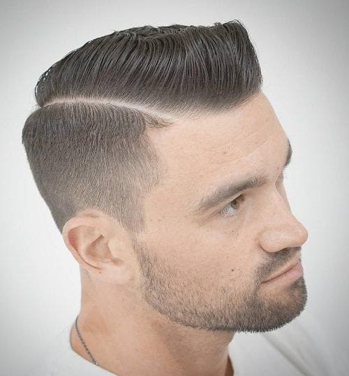 Mens military style haircuts