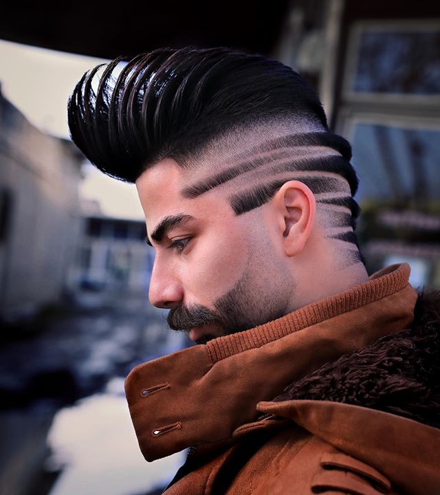40+ Best Neckline Hair Designs, Men's 2020 Hairstyles Trends | Men's Style