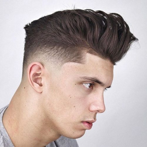 Line Up With Textured Quiff