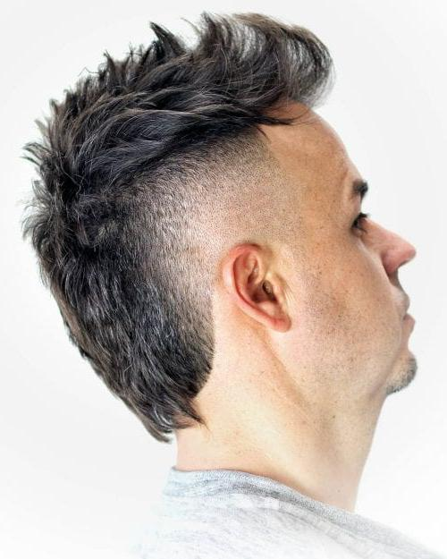 Textured Mullet Hairstyles For Thin Hair Men