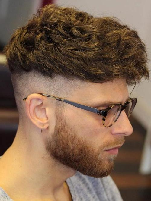 Tousled Front And Undercut Texture