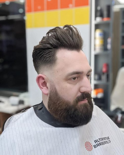 Men's Textrued Haircut For Thin Hair