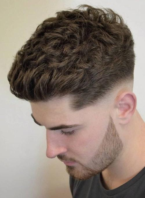 Naturally Curly Texture Brush Up With Skin Fade