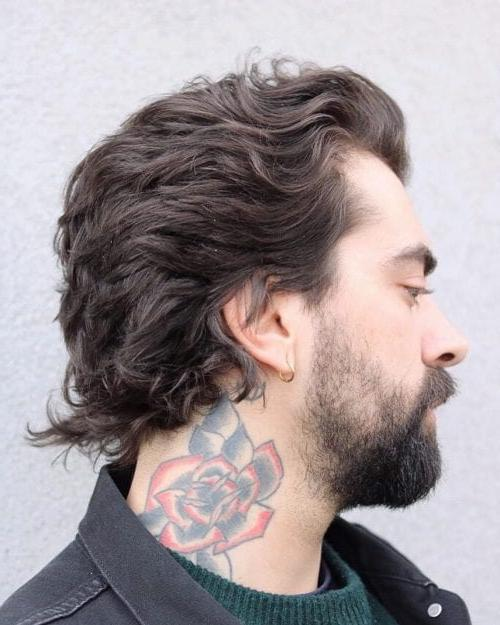 Textured Flow Haircut For Medium Length Hair