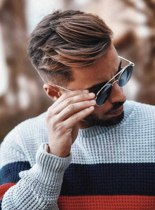 60 Popular Hairstyles For Men With Glasses Men S Style