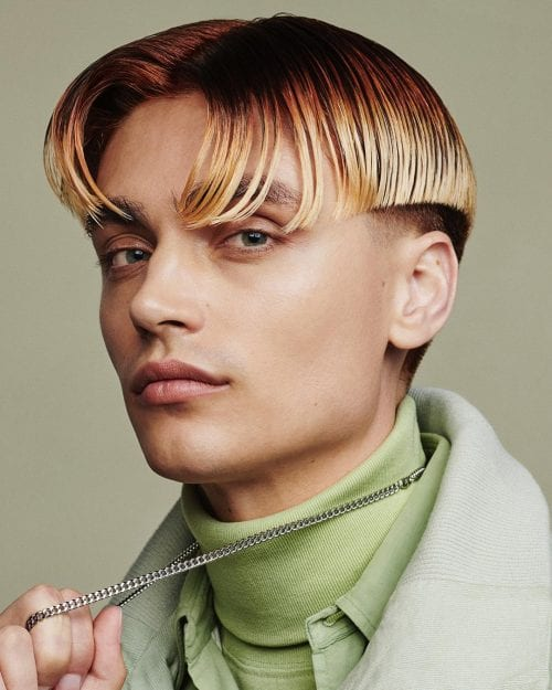 90's Curtain Hairstyles For Men